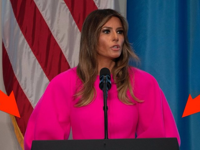 Melania Trump's $3,000 pink dress reveals a key difference between her and Michelle Obama