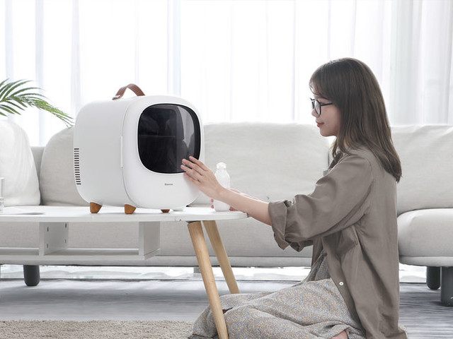 TV-Like Portable Fridges - The Baseus Personal Refridgerator Concept Has a Multifunctional Design (TrendHunter.com)