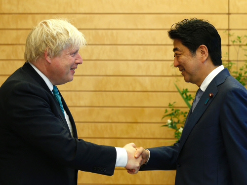 Britain's Johnson welcomes Japanese investment despite Brexit