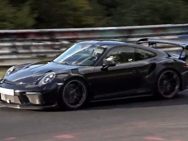 Spies Of The Nurburgring Have Captured A Special Porsche, The 911 GT3-RS (991.2)