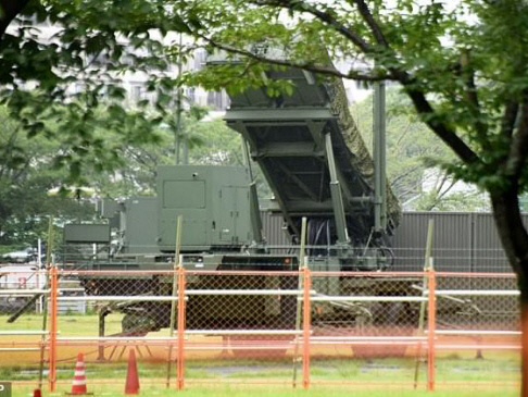 Japan deploys missile defence over N. Korea threat to Guam