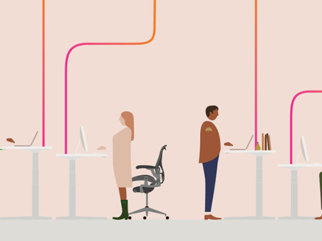 Herman Miller unveils a cloud-connected desk because that's the world we live in