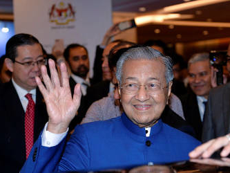 Dr Mahathir back on the global stage