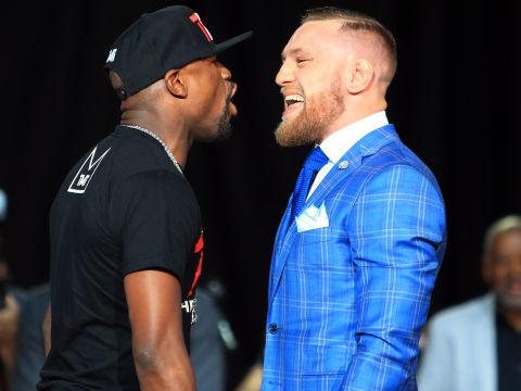 Mayweather-McGregor to be shown in U.S. movie theatres