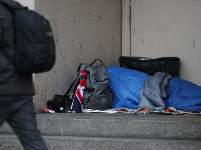 Shock As Suspected Rough Sleeper Dies Outside Parliament Tube Entrance