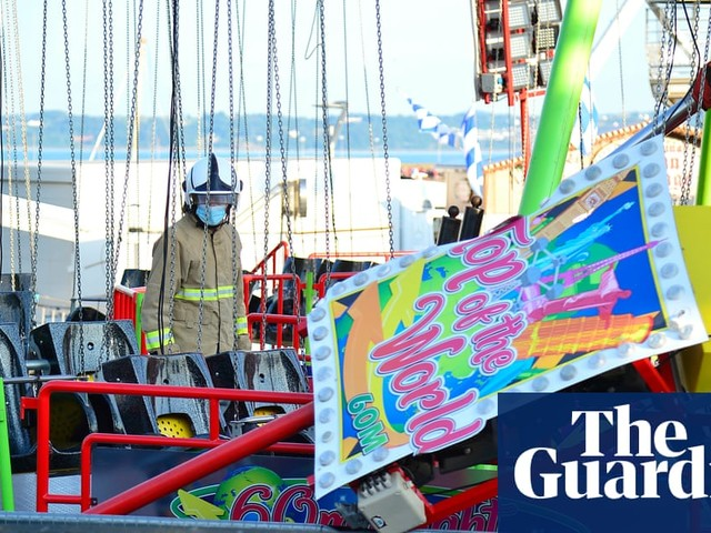 Four children taken to hospital after County Antrim funfair ride collapses