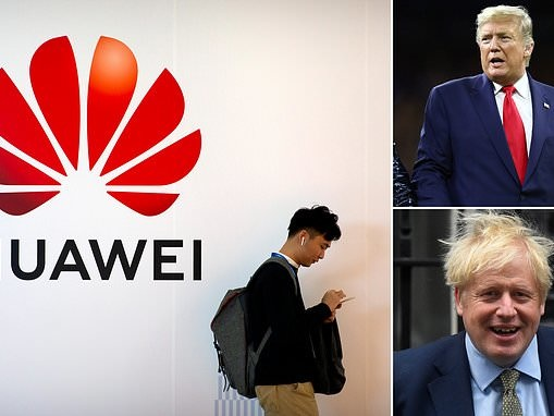 Boris Johnson 'braces for last-minute demand from Donald Trump' on Huawei