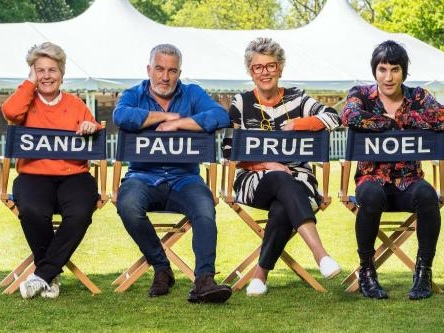 Noel Fielding, Prue Leith and Paul Hollywood to remain on GBBO