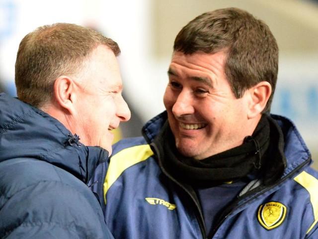 Mark Robins had this honest verdict on ten-man Coventry City's defeat to Burton