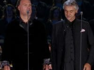 Bryn to burble with Bocelli