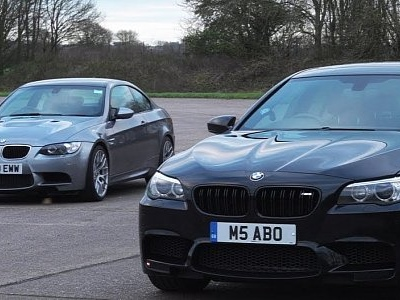 Used BMW Drag Race Is a Battle Between M135i, E92 M3 and F10 M5