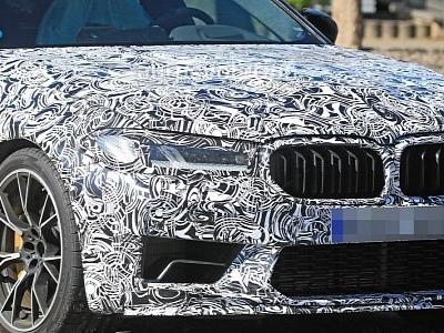 2021 BMW M5 CS Shows Big Aero in First Spyshots