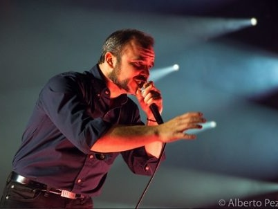 Photos: Future Islands play second of three gigs at London's Brixton Academy