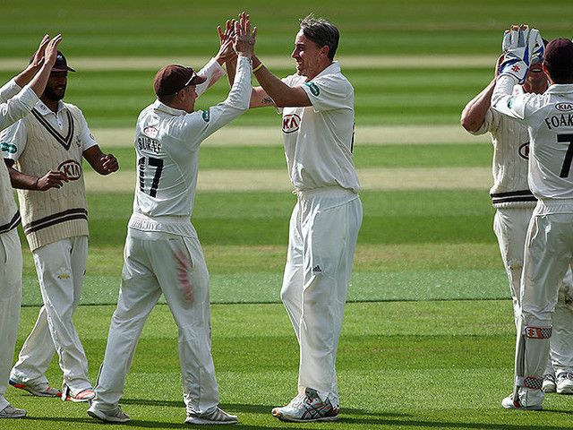 Clarke caps homecoming with career-best 7 for 55