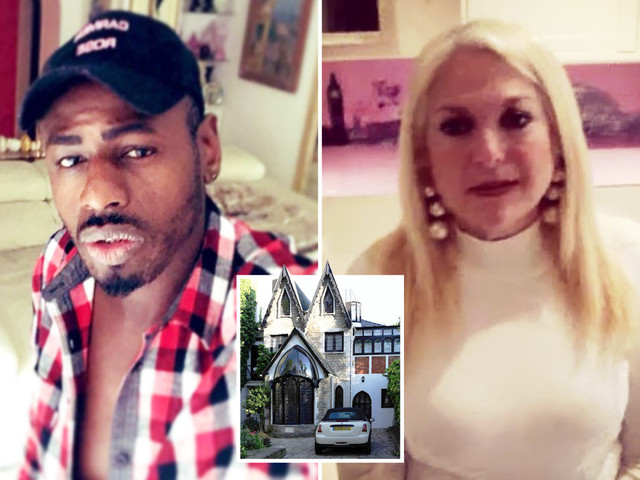 Inside Vanessa Feltz' incredible Gothic style home with pink kitchen and hunky toyboy Ben Ofoedu