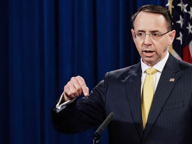 It's Going to Be Much, Much Harder for Trump to Fire Rod Rosenstein Now