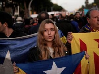 Police gird for separatist protest at Barcelona soccer match