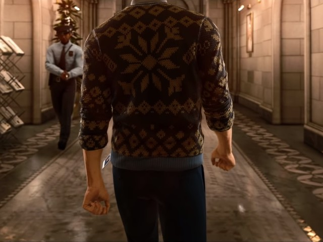 The launch trailer for Hitman 2's New York DLC shows off a high-security-bank and Agent 47's sweater