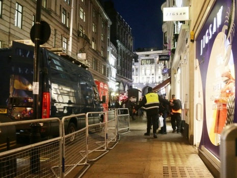 U.K. police at reported incident at Oxford Circus station
