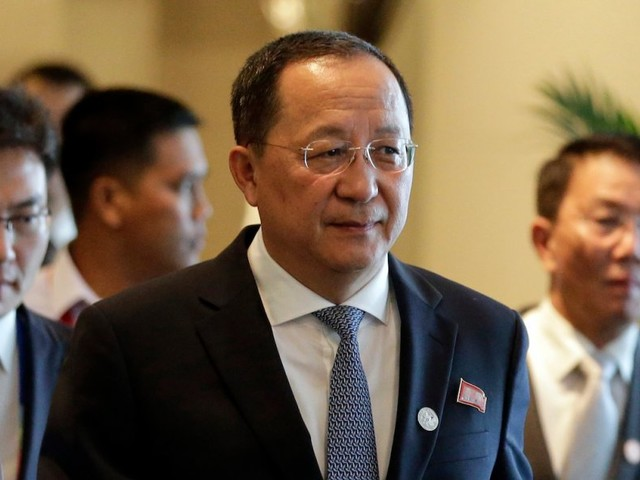 'The sound of a dog barking': North Korean foreign minister mocks Trump's fiery threats