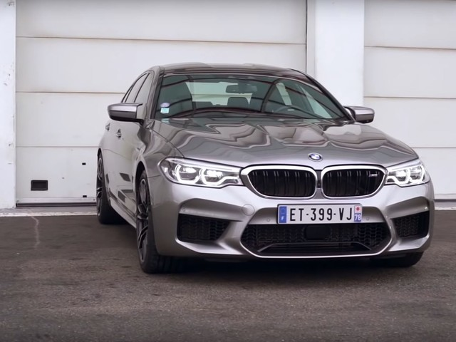 Video: BMW F90 M5 Faster than M2 Competition on Track
