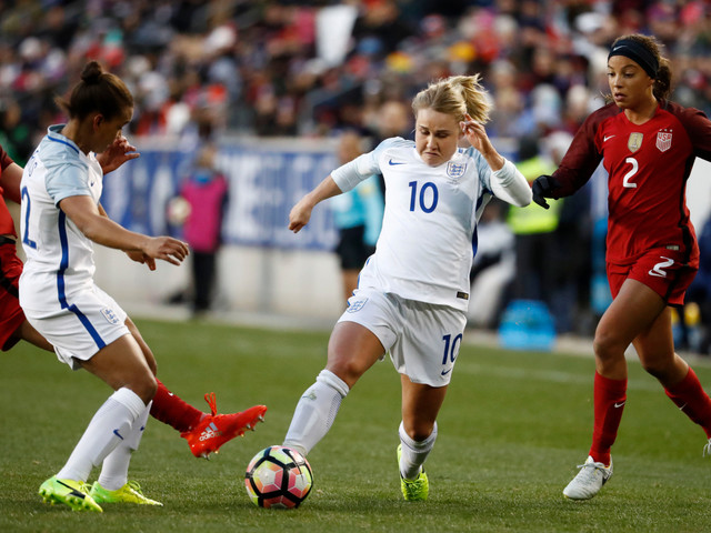 Why is Izzy Christiansen not playing in the Women's World Cup and what has Phil Neville said about the decision?