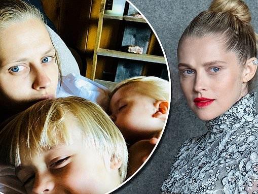 Teresa Palmer reveals her son Bodhi, five, wants to follow a vegan diet