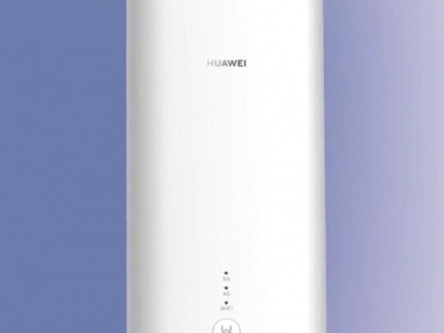 EE UK Prep Huawei 5G CPE Pro Router for Home Mobile Broadband - Tech