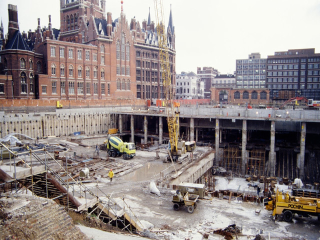 Unseen photos of London's construction history