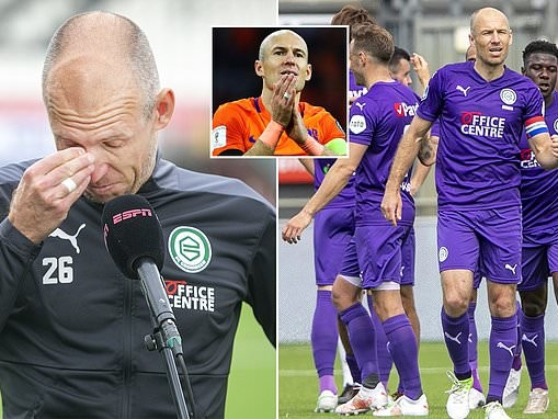 Arjen Robben emotional after Groningen injury hell and WOULD return to Dutch side for Euro 2020