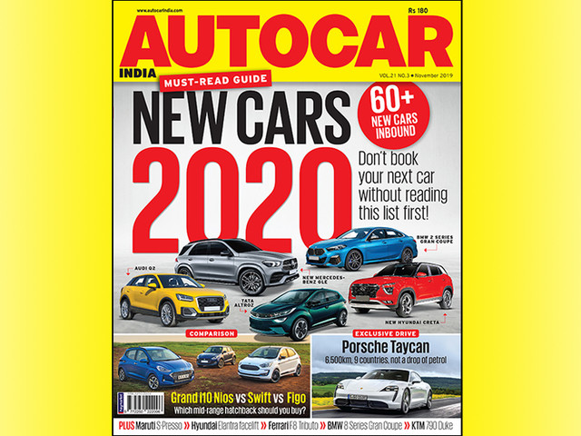 Autocar India November 2019 issue out now!