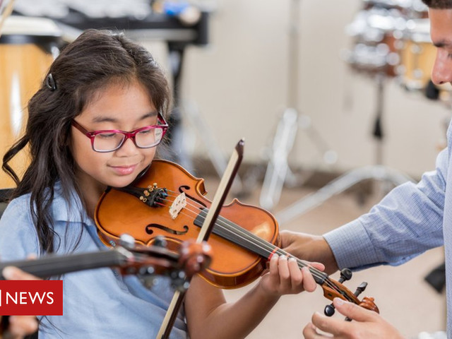 Fears for the future of music lessons in schools