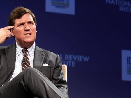 Tucker Carlson's first-grade teacher calls his description of her in his book 'the most embellished, crazy thing I ever heard'