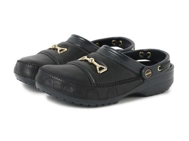 Formal Loafer-Inspired Clogs - The Crocs x BEAMS Bit Clog Rethink the Idea of Formal Attire (TrendHunter.com)