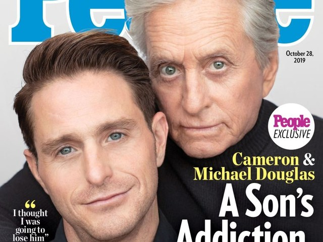 Cameron & Michael Douglas cover People because he wants a career, right?