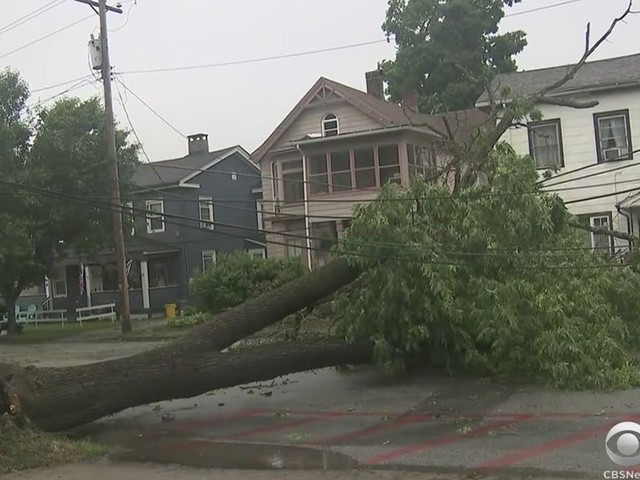 Storms Knock Down Trees, Cause Flooding Throughout Tri-State Area