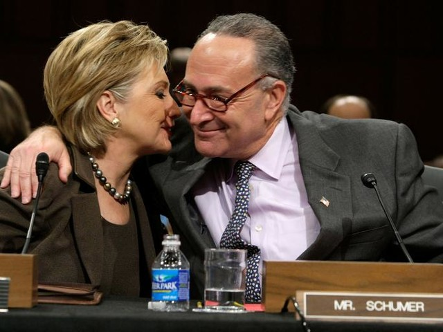 """Schumer Takes Aim at Clinton: Don't Blame Russia or Comey, """"Blame Yourself"""""""
