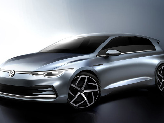 Next-gen Volkswagen Golf design sketches revealed