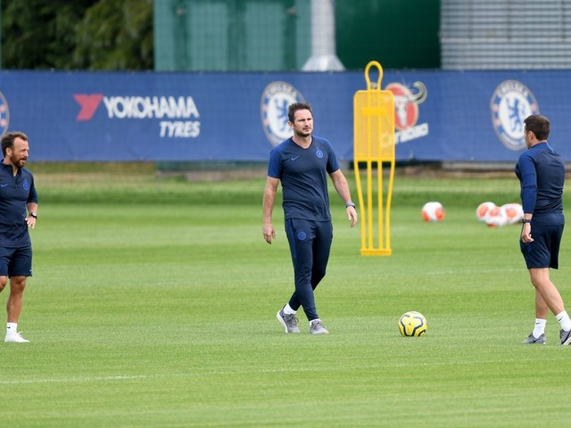 Lampard reflects on first week of Chelsea's return to training