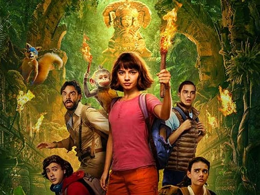 Dora and the Lost City of Gold DVD release date UK and when is it out on iTunes and digital rental