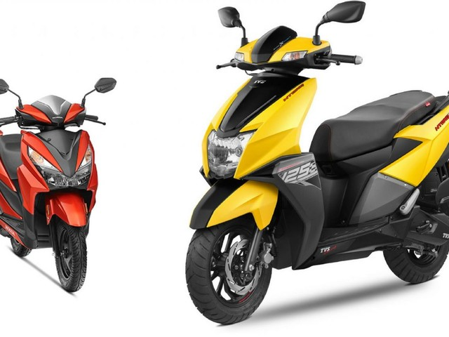 Honda Grazia Sales Dropped By 54%, TVS Ntorq's Up By 70% In April 2019