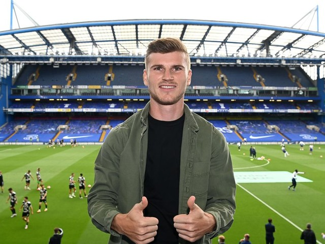 Werner sold on Lampard, ready to score more goals at Chelsea than at RB Leipzig
