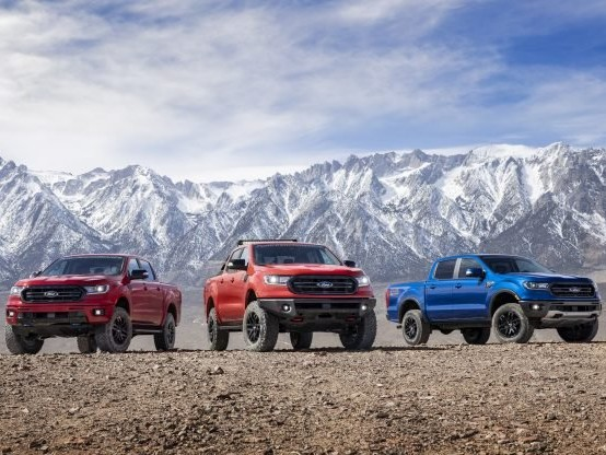 2019 and 2020 Ford Ranger Gain More Power, Fox Suspension With Three Off-road Packages