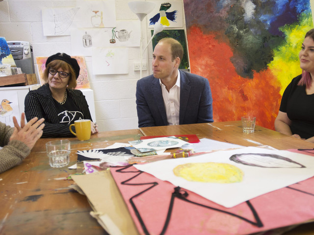 Prince William Discusses Drug Legalisation With Former Addicts