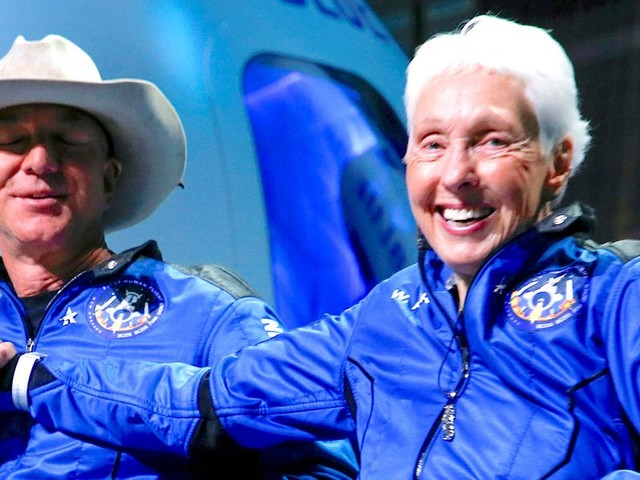 Wally Funk was the only endearing thing about Jeff Bezos's spaceflight