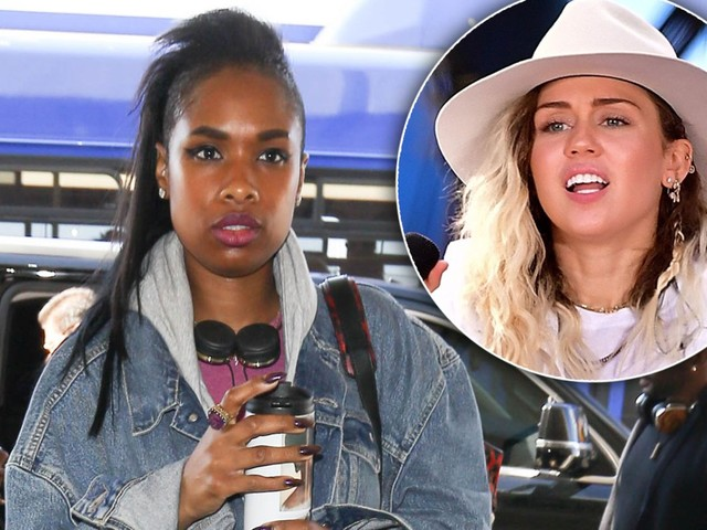 Claws Come Out! 'Diva' Jennifer Hudson Shades Miley Cyrus During 'The Voice' Taping