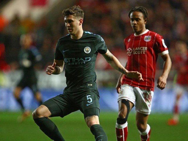 Man City fans hammer John Stones after Bristol City performance