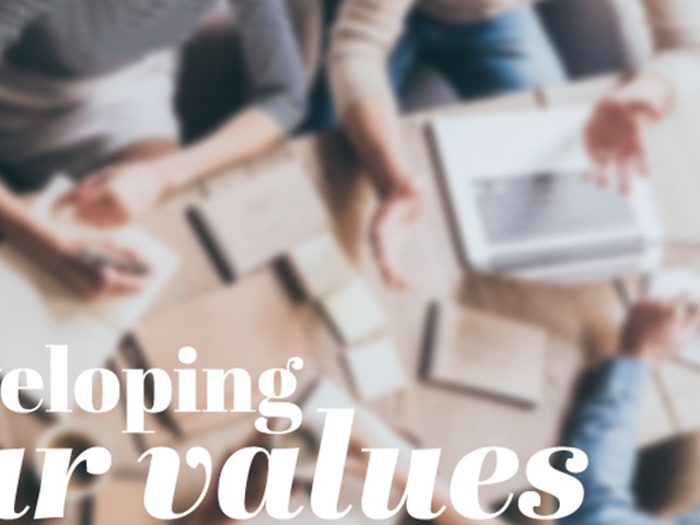 4 Steps To Develop Brand Values