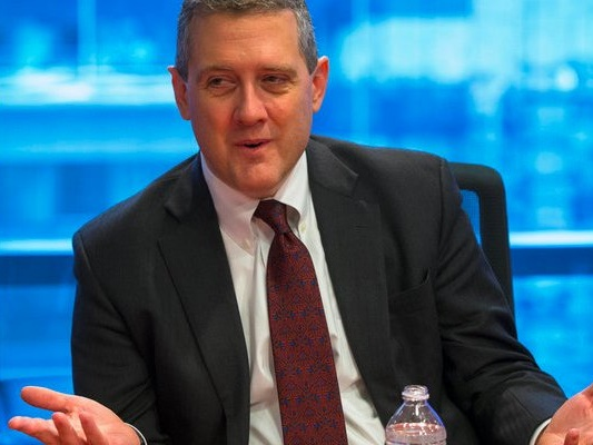 Fed president James Bullard tells us why he disagrees with his colleagues about the need for more rate hikes