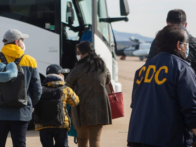 People quarantined at a US military base are petitioning the CDC after a woman who tested positive for the coronavirus was accidentally released from hospital isolation